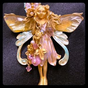 Kirks Folly Fairy with Crystal Dangle
